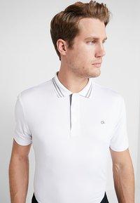 Calvin Klein Golf - HARLEM TECH  - Funkční triko - white - 3