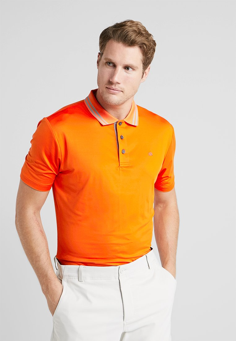 Calvin Klein Golf - HARLEM TECH  - Camiseta de deporte - pure orange