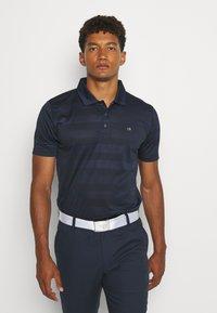 Calvin Klein Golf - SHADOW STRIPE - Funkční triko - navy - 0