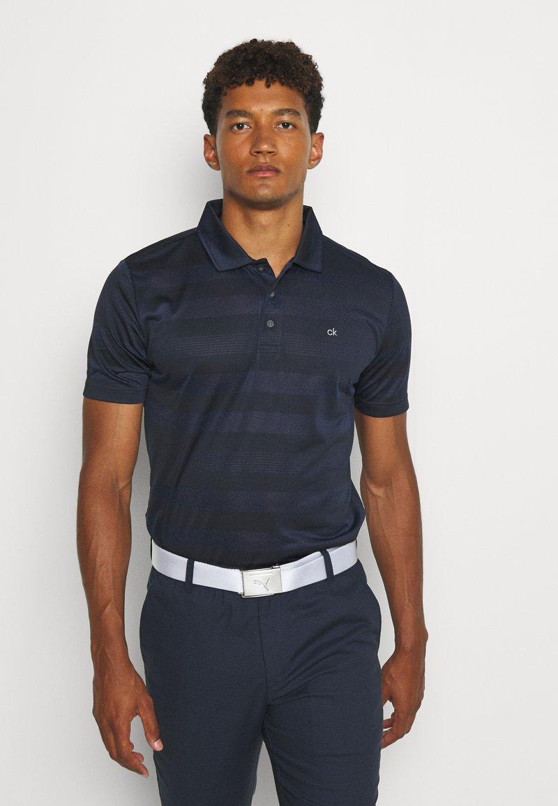 Calvin Klein Golf - SHADOW STRIPE - Funkční triko - navy