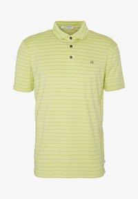 Calvin Klein Golf - SPLICE - Funkční triko - lime - 3