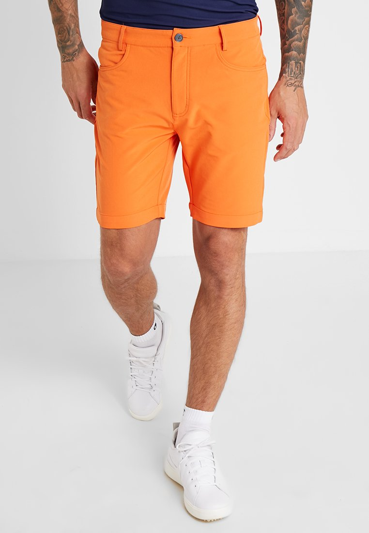 Calvin Klein Golf - GENIUS TROUSERS - Pantalón corto de deporte - orange