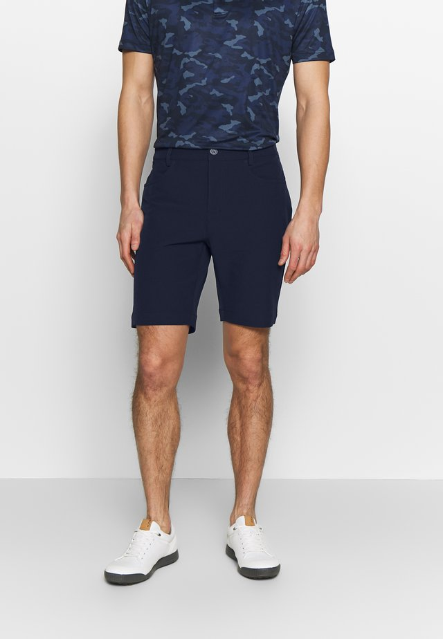 GENIUS TROUSERS - Korte broeken - dark navy
