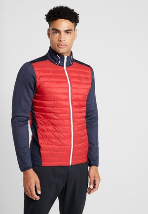 HYBRID JACKET - Chaqueta outdoor - navy/red