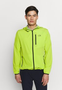 Calvin Klein Golf - ULTRA LITE JACKET - Sportovní bunda - lime - 0