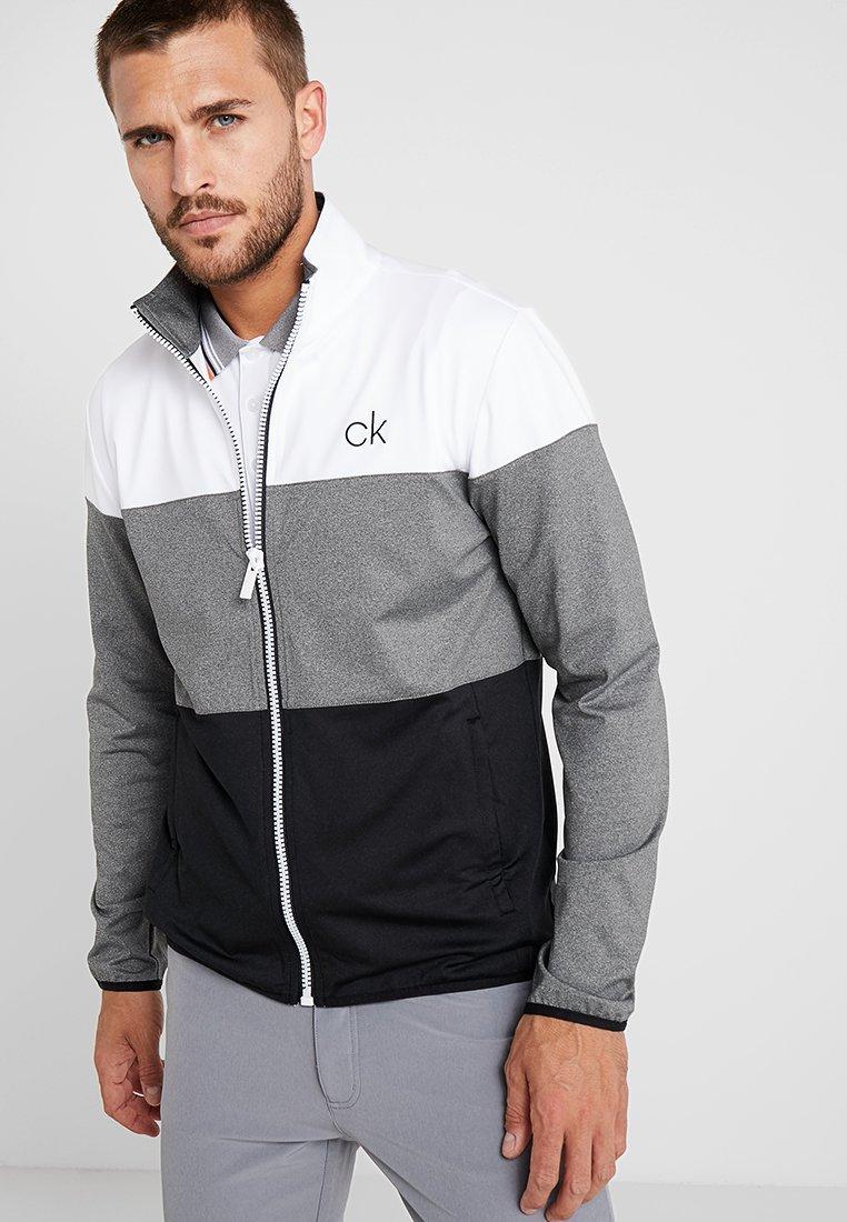 Calvin Klein Golf - NAVITEC FULL ZIP - Trainingsjacke - white/black
