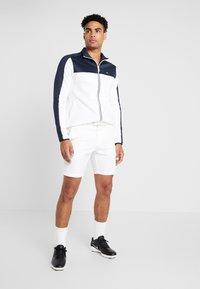Calvin Klein Golf - FULL ZIP - Sweatshirt - white/navy - 1