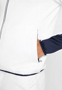 Calvin Klein Golf - FULL ZIP - Sweatshirt - white/navy - 3