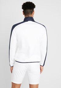 Calvin Klein Golf - FULL ZIP - Sweatshirt - white/navy - 2