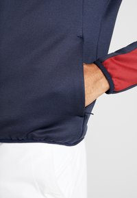 Calvin Klein Golf - FULL ZIP - Mikina - navy/red - 3