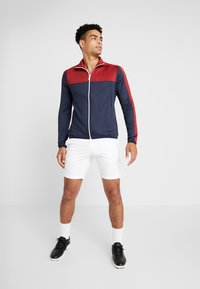 Calvin Klein Golf - FULL ZIP - Mikina - navy/red - 1