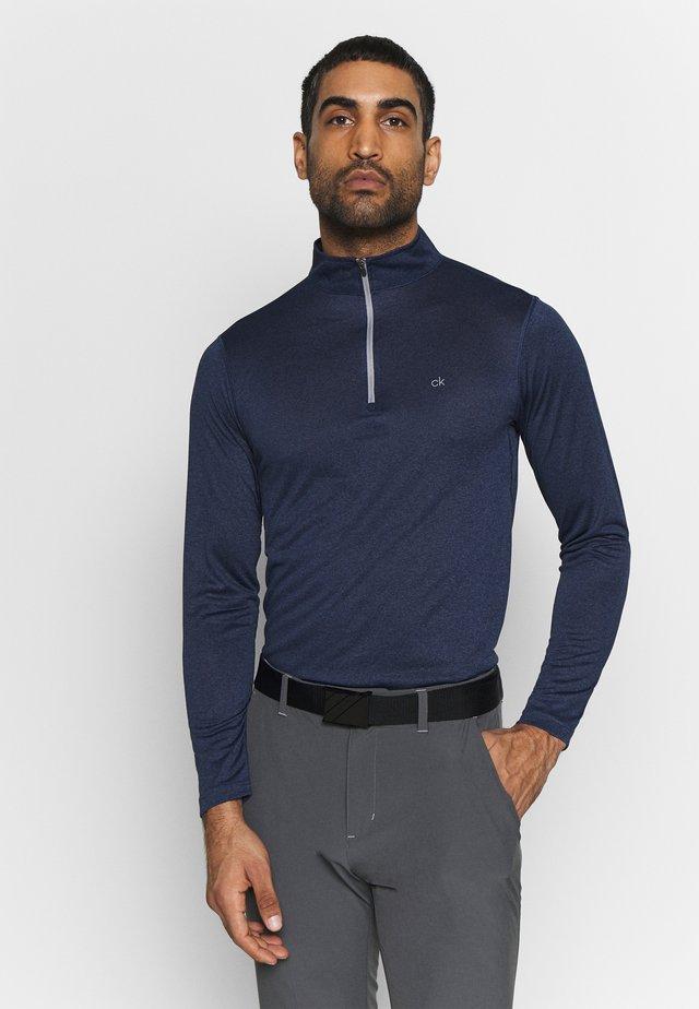 HARLEM TECH 1/4 ZIP - Långärmad tröja - navy
