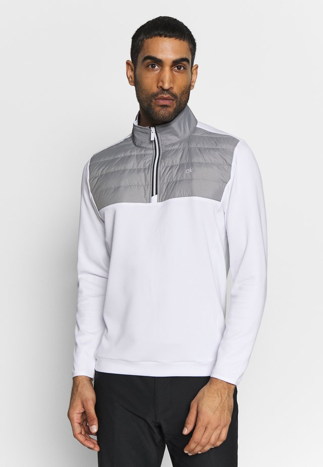 SHALEX HALF ZIP - Sweater - white