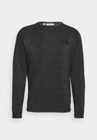 Calvin Klein Golf - COLUMBIA CREW NECK - Mikina - charcoal marl - 3
