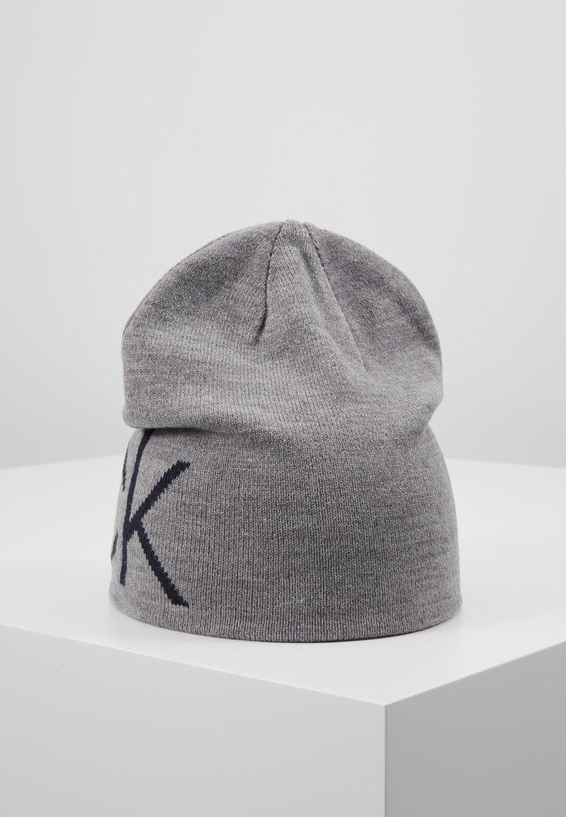 Calvin Klein Golf - BOWLINE BEANIE - Bonnet - greymarl