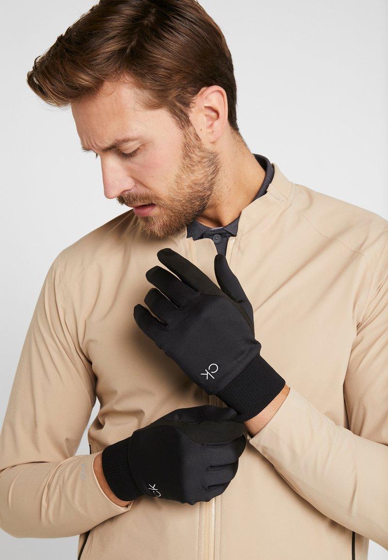 Calvin Klein Golf - WINTER GLOVE - Fingervantar - black