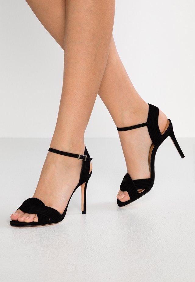 KAZI - High heeled sandals - noir