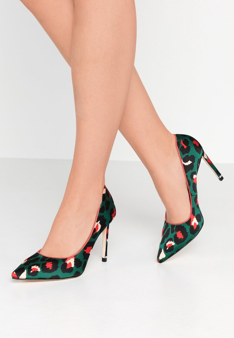 Cosmoparis - GOHO - Højhælede pumps - vert/orange