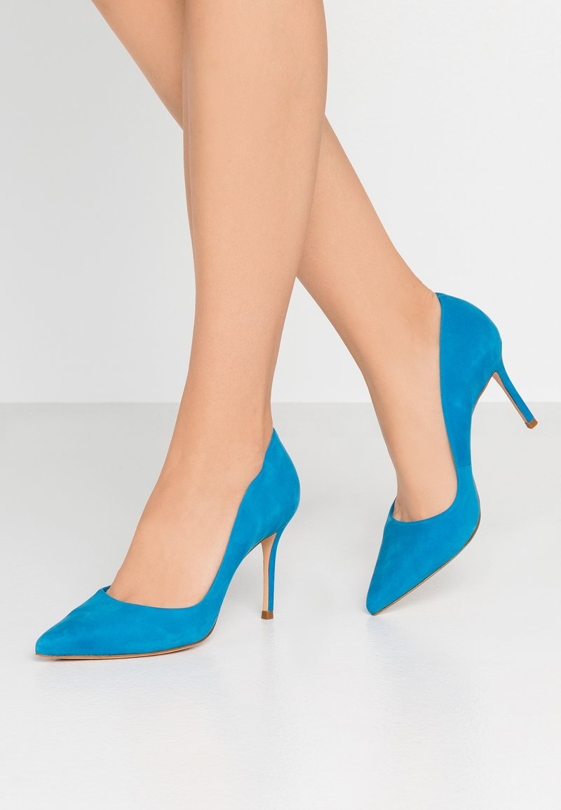 Cosmoparis - ABELINA - Højhælede pumps - bleu