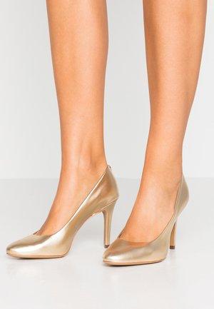 JELLISSA - Zapatos altos - platine
