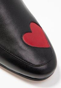 Cosmoparis - VOLU - Nazouvací boty - noir - 2