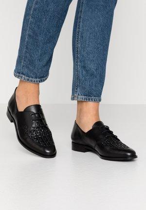 ELENAGE - Šněrovací boty - noir