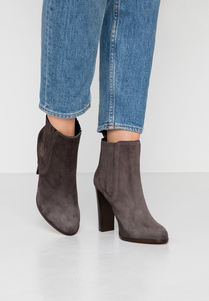 Cosmoparis - SILI - High heeled ankle boots - anthra