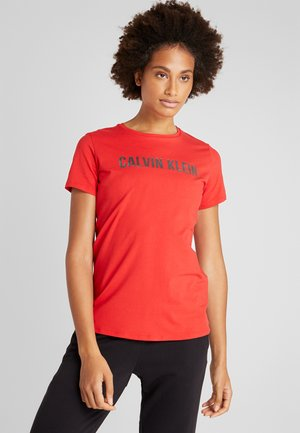 TEE LOGO - T-Shirt print - red