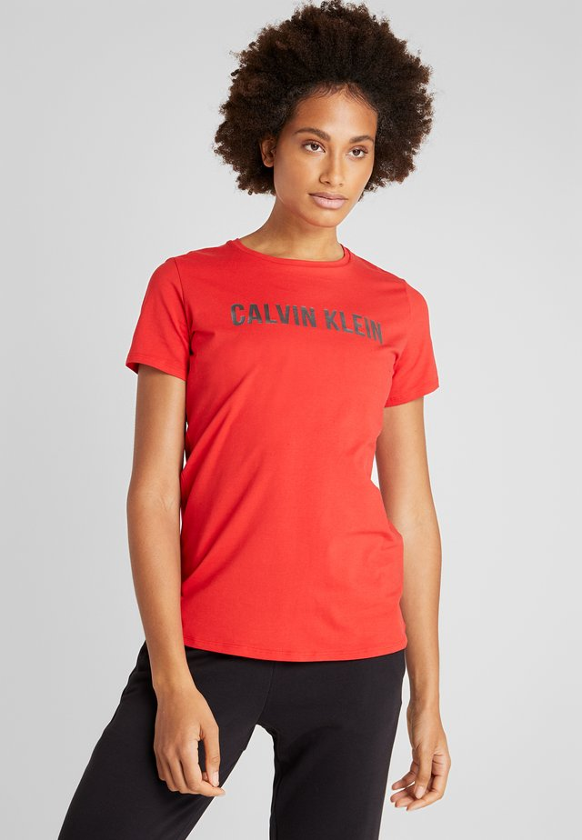 TEE LOGO - T-shirt med print - red