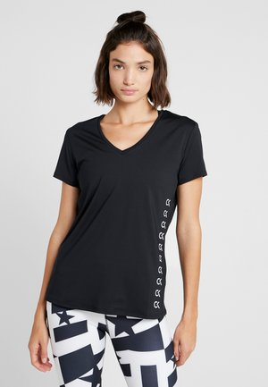 COOLCORE TEE - T-shirts med print - black