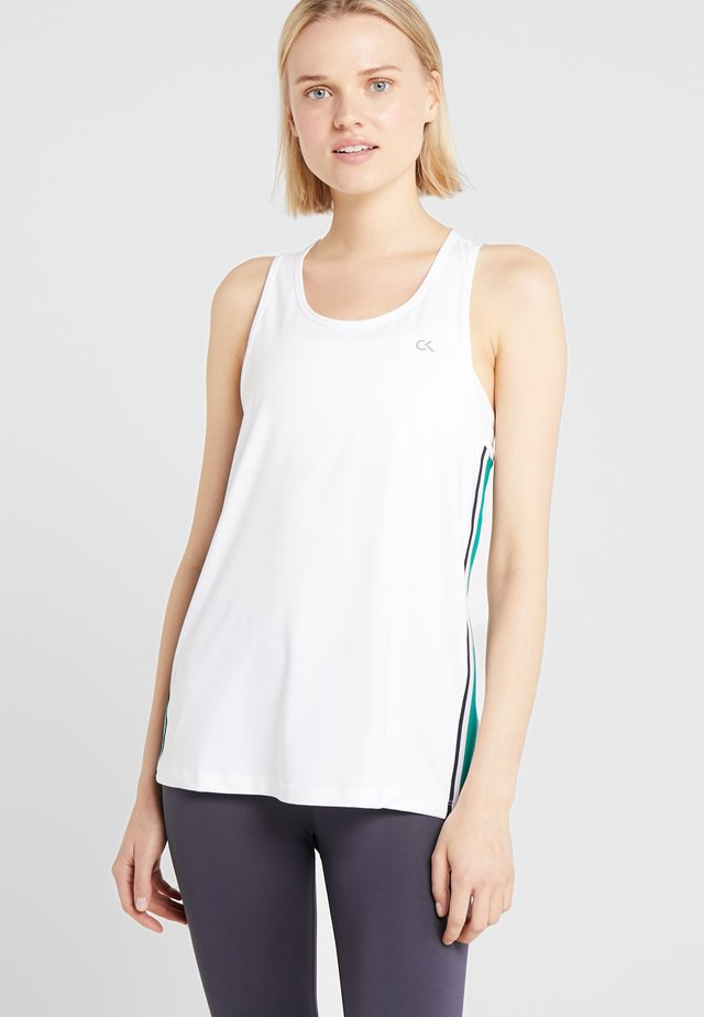 COOLCORE TANK - Sports shirt - white
