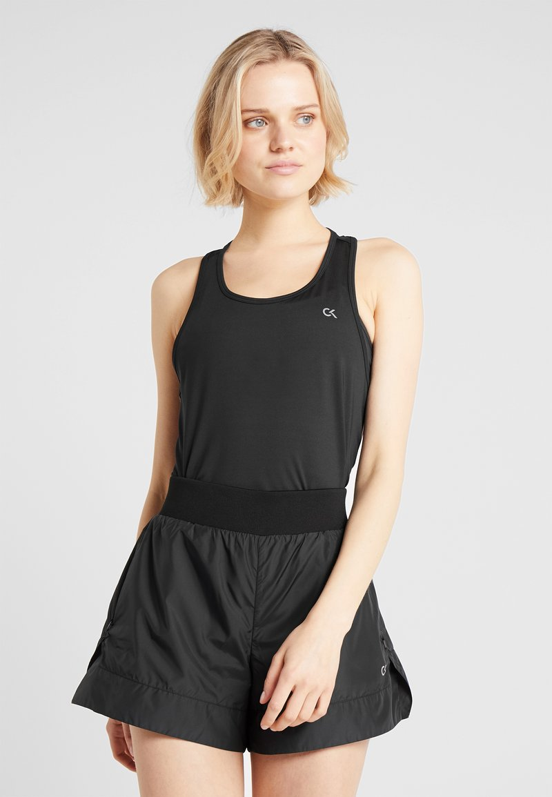 Calvin Klein Performance - COOLCORE TANK - Funktionstrøjer - black