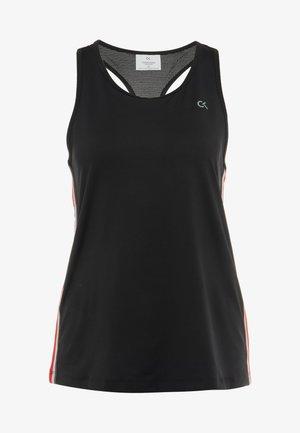 COOLCORE TANK - T-shirt sportiva - black