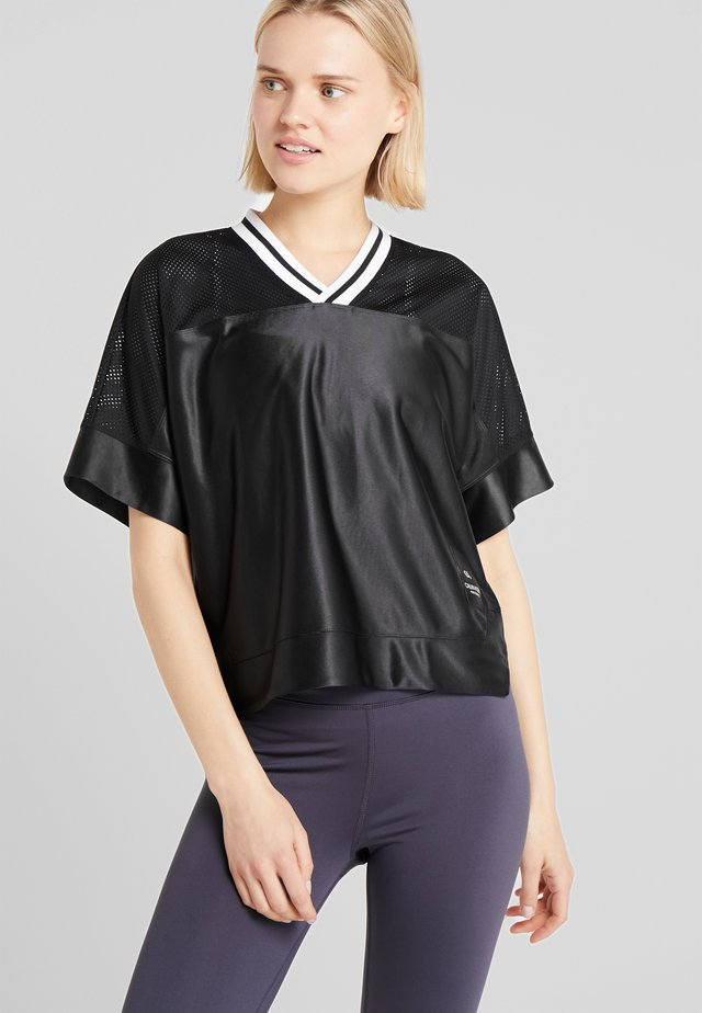 RELAXED TEE - T-shirt con stampa - black