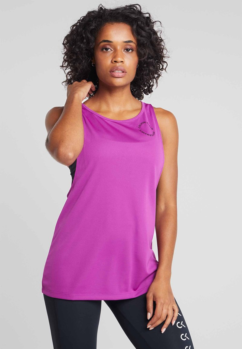Calvin Klein Performance - TANK - Top - purple