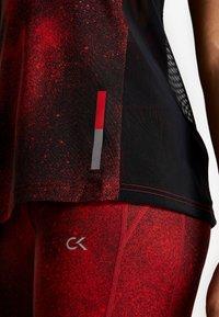 Calvin Klein Performance - TANK - Treningsskjorter - black - 6