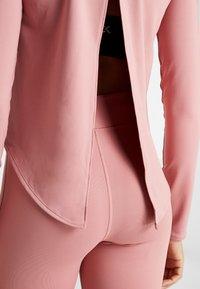 Calvin Klein Performance - LONG SLEEVE - Funkční triko - pink - 5