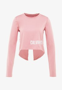 Calvin Klein Performance - LONG SLEEVE - Funkční triko - pink - 4