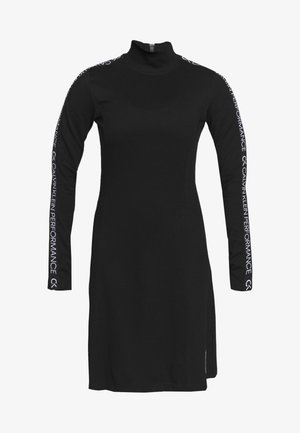 LONG SLEEVE DRESS - Vestido ligero - black