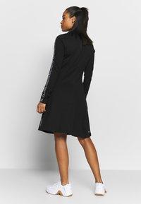 Calvin Klein Performance - LONG SLEEVE DRESS - Vestido ligero - black - 2