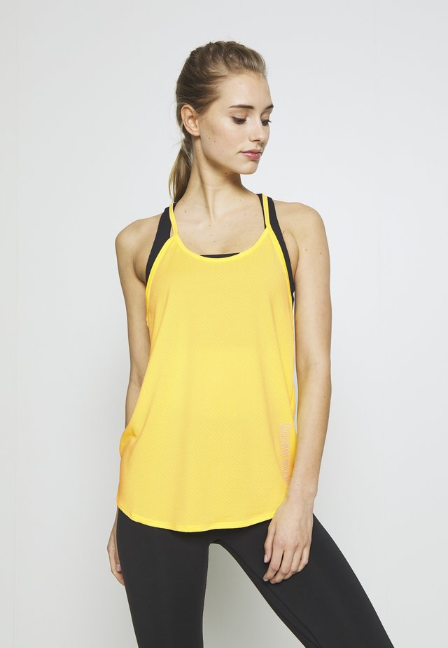 TANK TOP - Toppi - yellow