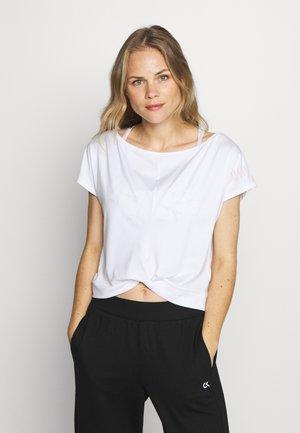 SHORT SLEEVE - Print T-shirt - white