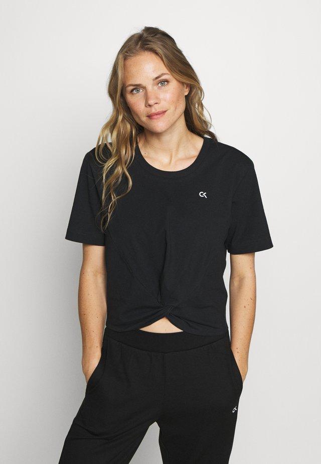 SHORT SLEEVE - T-Shirt print - black