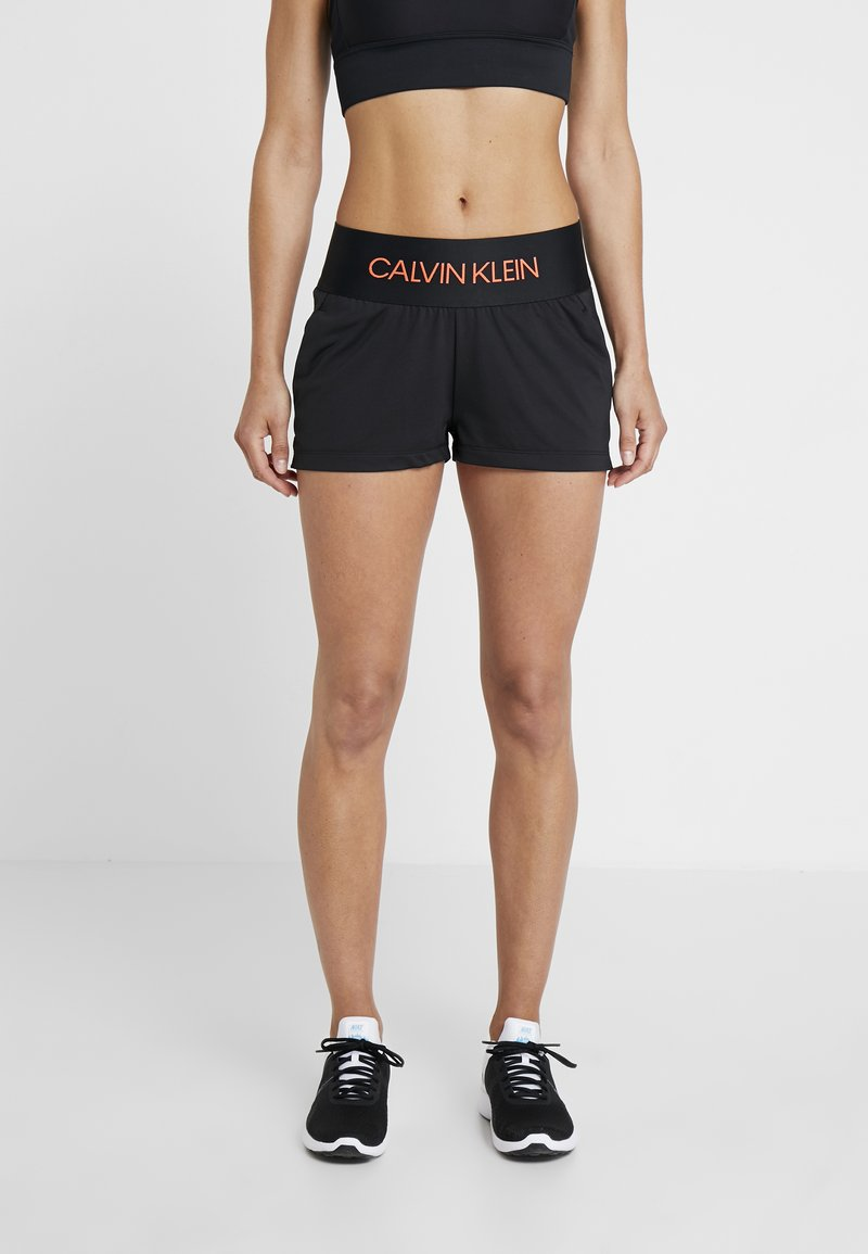 Calvin Klein Performance - SHORTS - Träningsshorts - black