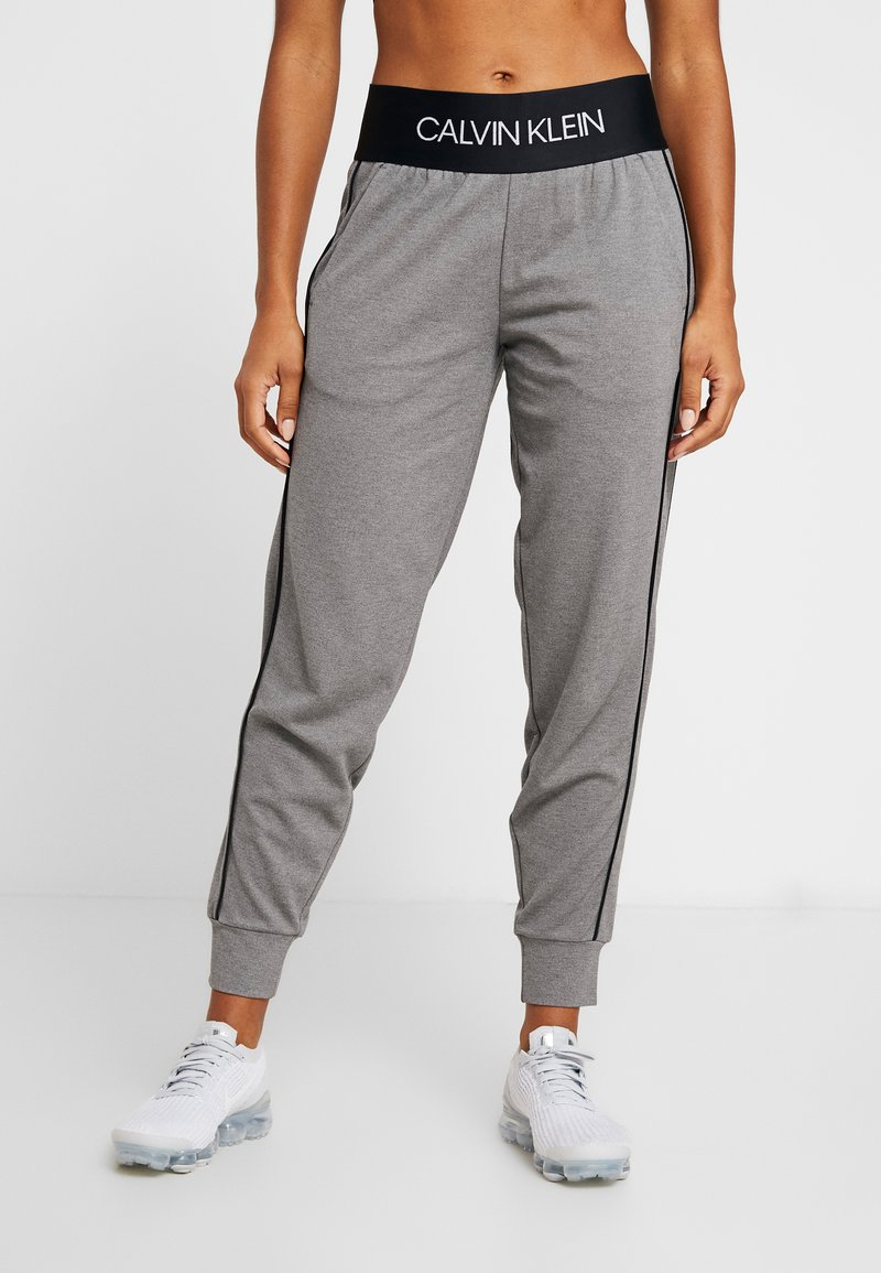 Calvin Klein Performance - PANTS - Tracksuit bottoms - grey