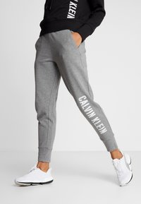 Calvin Klein Performance - PANTS - Tracksuit bottoms - grey - 0
