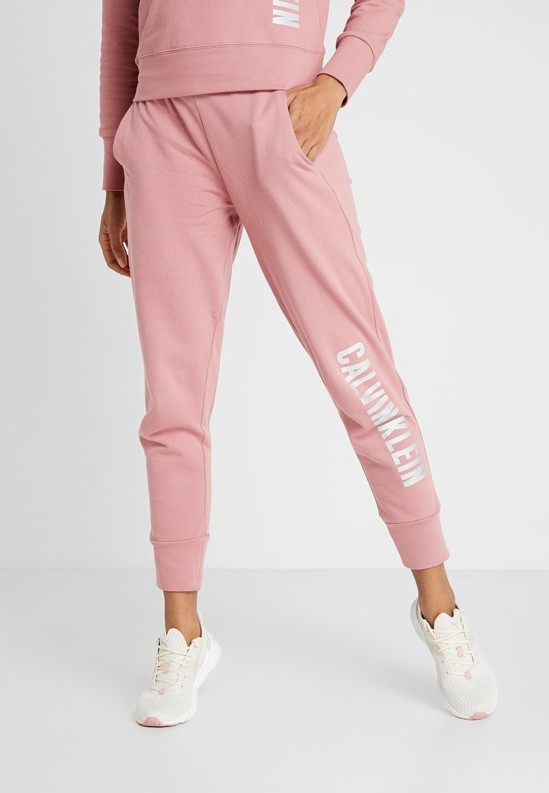 Calvin Klein Performance - PANTS - Tracksuit bottoms - pink