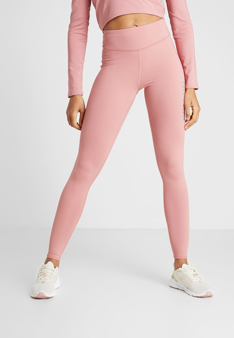 Calvin Klein Performance - FULL LENGTH - Tights - dusty pink