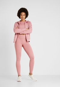 Calvin Klein Performance - FULL LENGTH - Tights - dusty pink - 1