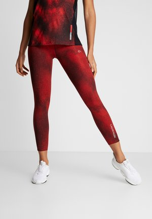 Tights - red